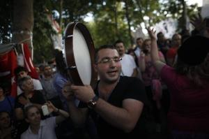 banging the drum of resistance